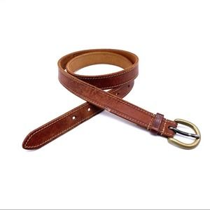 """Scapa of Scotland Leather Belt 1"""" Made in England"""